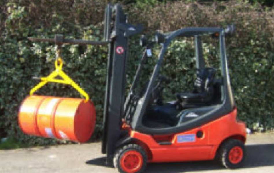 forklift attachments Drum-Lifters-Drum-Handlers-DL19