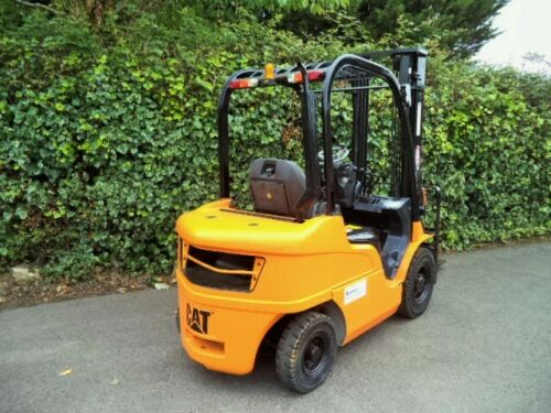Caterpillar 2.5-ton Diesel used forklift