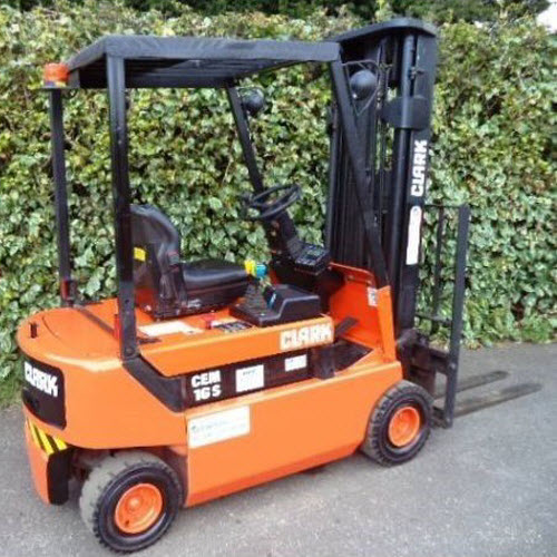 Clark-Electric-Counterbalance-forklift-s