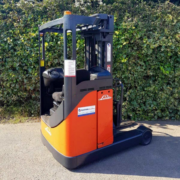 Linde R16 Reach used forklift Truck