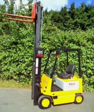 TCM-electric-used-forklift-truck