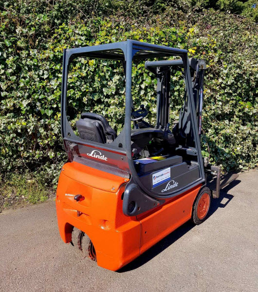 Linde E14 Electric Counterbalance Used Forklift
