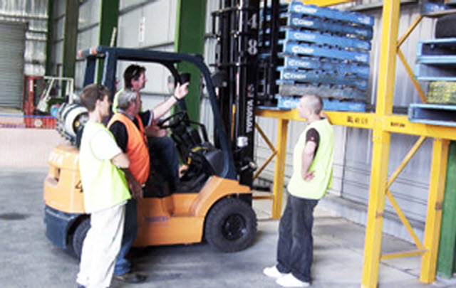Forklift training courses Essex Experienced Course