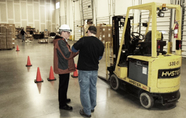 Forklifts training Refresher