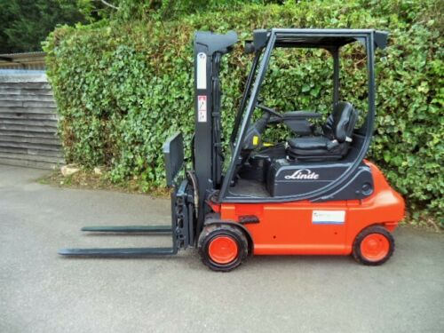 Linde-electric-counterbance-used-forklift